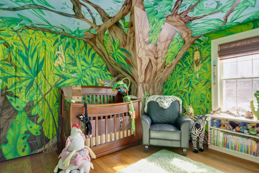 Jungle Baby Room [1304 Sweet Rd]